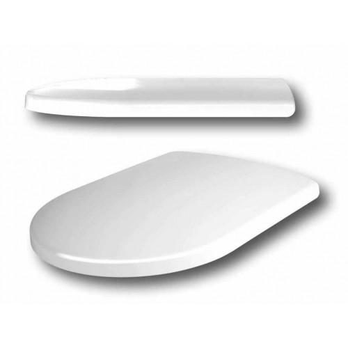 WC Sitz, Madrid, Top Design Line, Edelstahl Exzenterscharnier und Clip-Up-Funktion