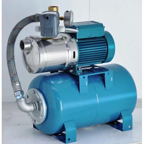 Hauswasserwerk, Calpeda NGXM 3, GETTOMAT 50 mit 50 ltr. Behälter