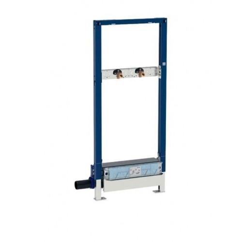 Geberit Duofix Element für Dusche, 130cm mit Wandablauf, für AP-Armatur, 111.587.00.1, für Estrichhöhe am Einlauf 90–200 mm