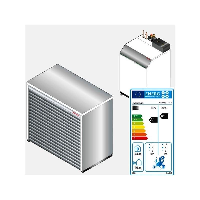 Weishaupt Luft/Wasser-Wärmepumpe BiblockTyp WWP LB 12-A, Ausführung R, Art. Nr. 51150451010