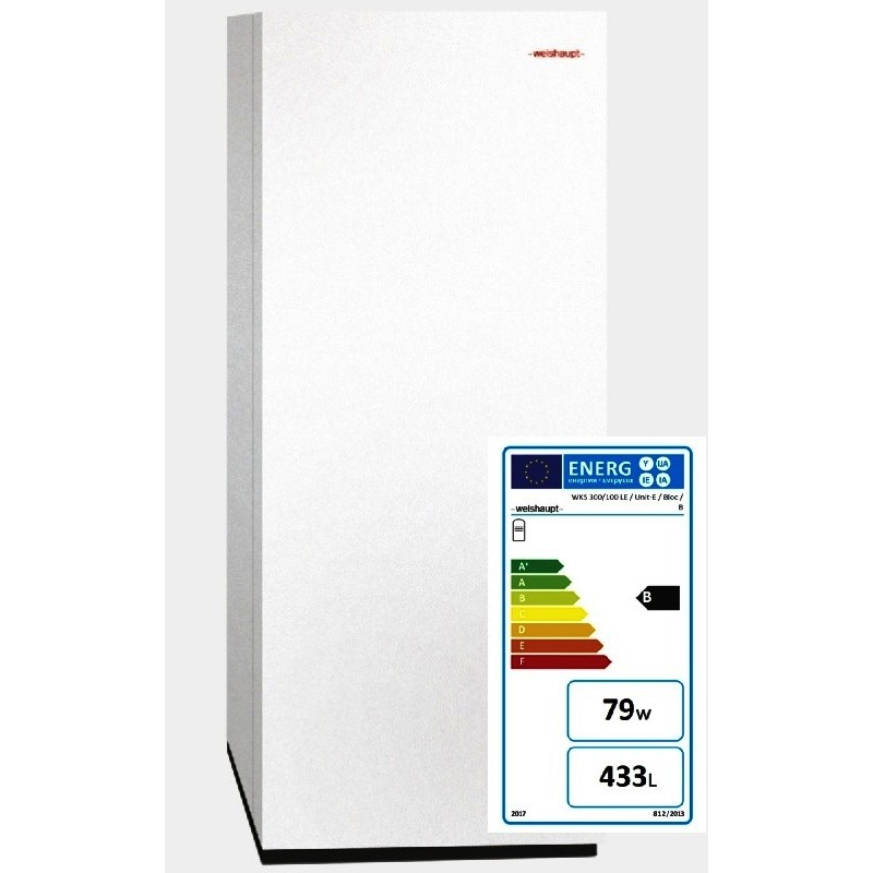 Weishaupt Kombispeicher, Typ WKS 300/100 LE / Unit / Bloc / Cpassend auch zu Luft / Wasserwärmepumpe Weishaupt Art. 5115045101