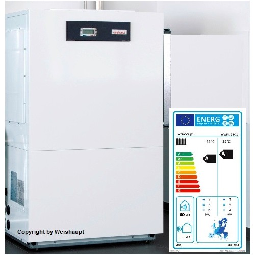 Weishaupt Wärmepumpe, Luft / Wasser-Wärmepumpe, WWP L 8IK-2, Wandaufstellung, Systempaket WP 01/10 Luft / Kompakt-Wärmepumpe mit