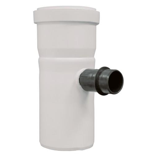 TTC Abgas Rohrelement DN 60 mit Kondensatablauf ohne Siphon