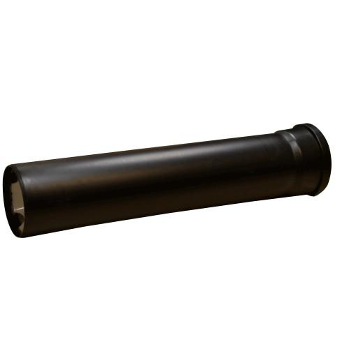 TTC Schalldämpfer EW Raumluftabhängig für die Verbindungsleitung DN 60, schwarz