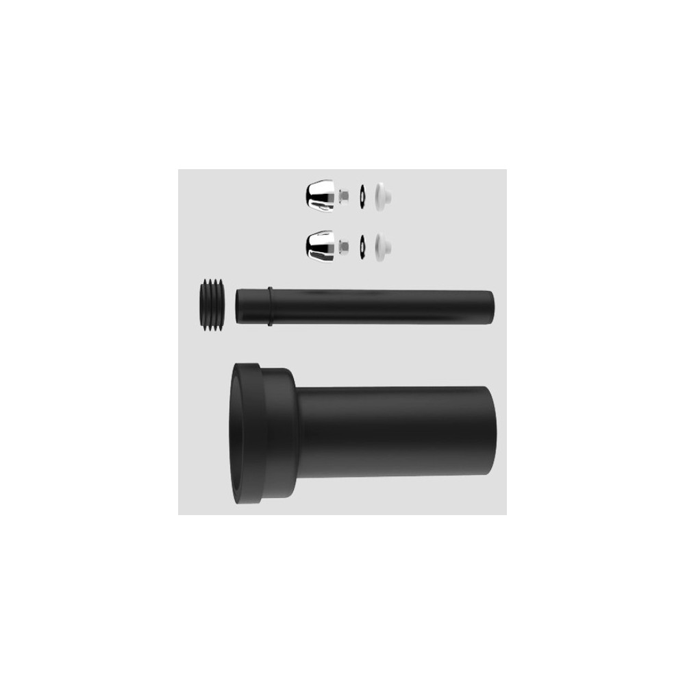 Wand WC Anschlussgarnitur Ø 90 110 etagiert Duofix Geberit Vorwandelement