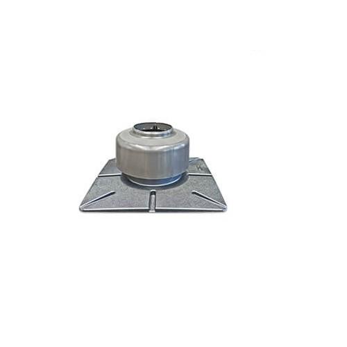 TTC Abgas Mündungsset Kunststoff, DN 60 mit Mündungsrohr 450 mm