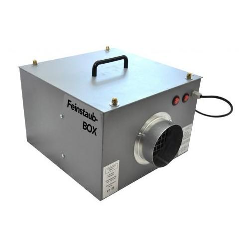 Airbox Feinstaubbox Abgang 90mm