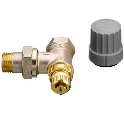 """Heizkörper, Ventilunterteil RA-FN 15, 1/2"""" Eckform, Ventilgehäuse ohne Voreinstellung"""