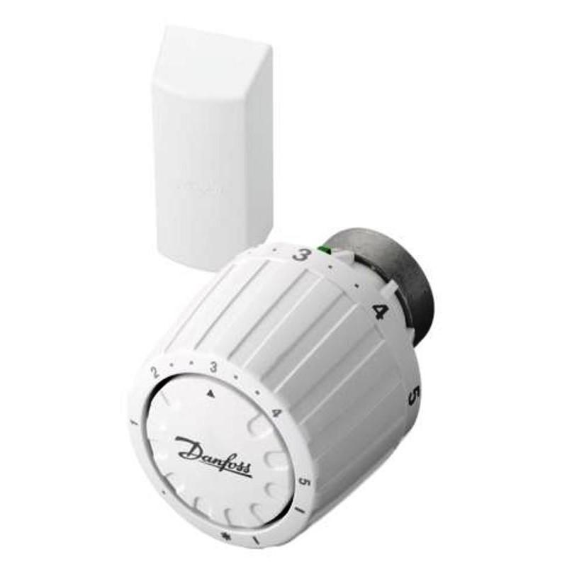Servicefühler, Thermostatkopf,  RA/VL Fernfühler mit 2 Meter Kapillarrohr, Ventilhals 26mm, weiss