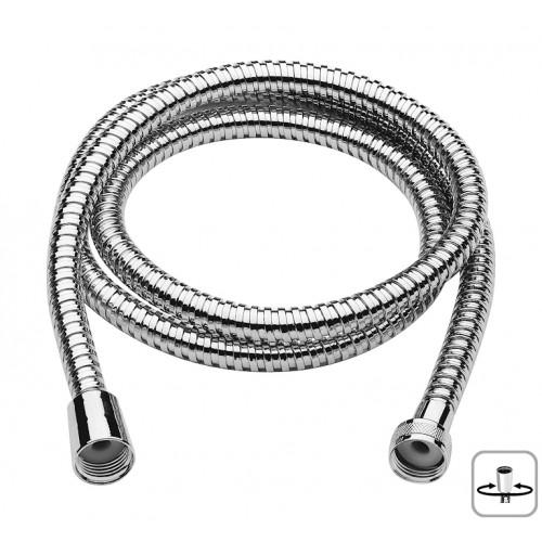 Brauseschlauch, Metallbrauseschlauch, Duschschlauch, Länge 1750 mm, Massive stabile Ausführung