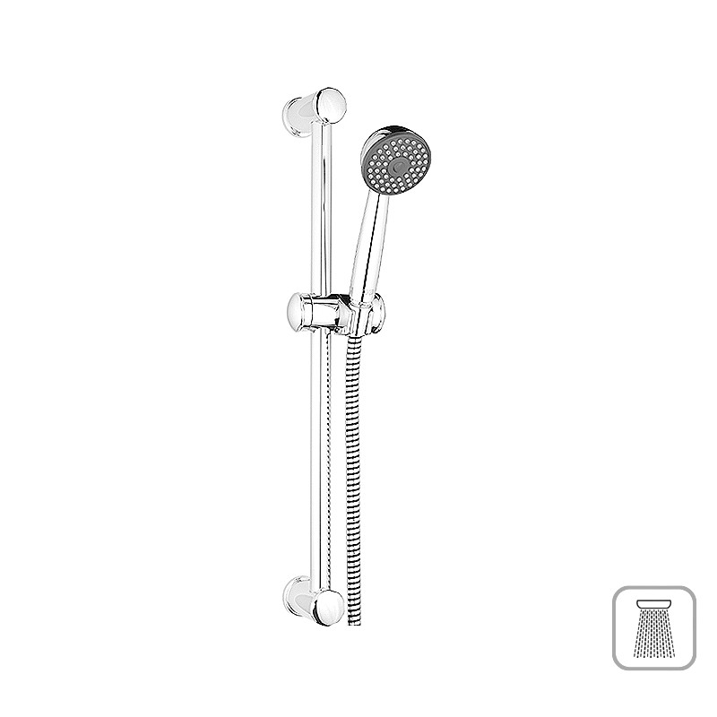 Brausestange, Duschset, Brause, Dusche, Brauseset, Duschstange, 628 mm